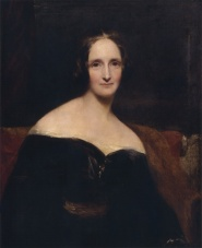 Mary Shelley by Richard Rothwell, 1840