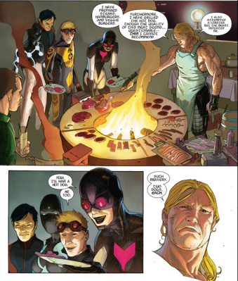 Can you name all of these Avengers? From Avengers (vol. 5) #24 by Jonathan Hickman