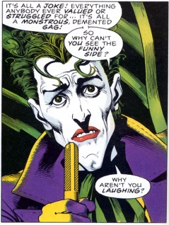 Art by Brian Bolland. Image taken from http://images.sequart.org/images/joke1.jpg