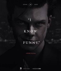 Cameron Monaghan as Jerome in Gotham. Image taken from https://www.facebook.com/CameronMonaghanOfficial?pnref=lhc